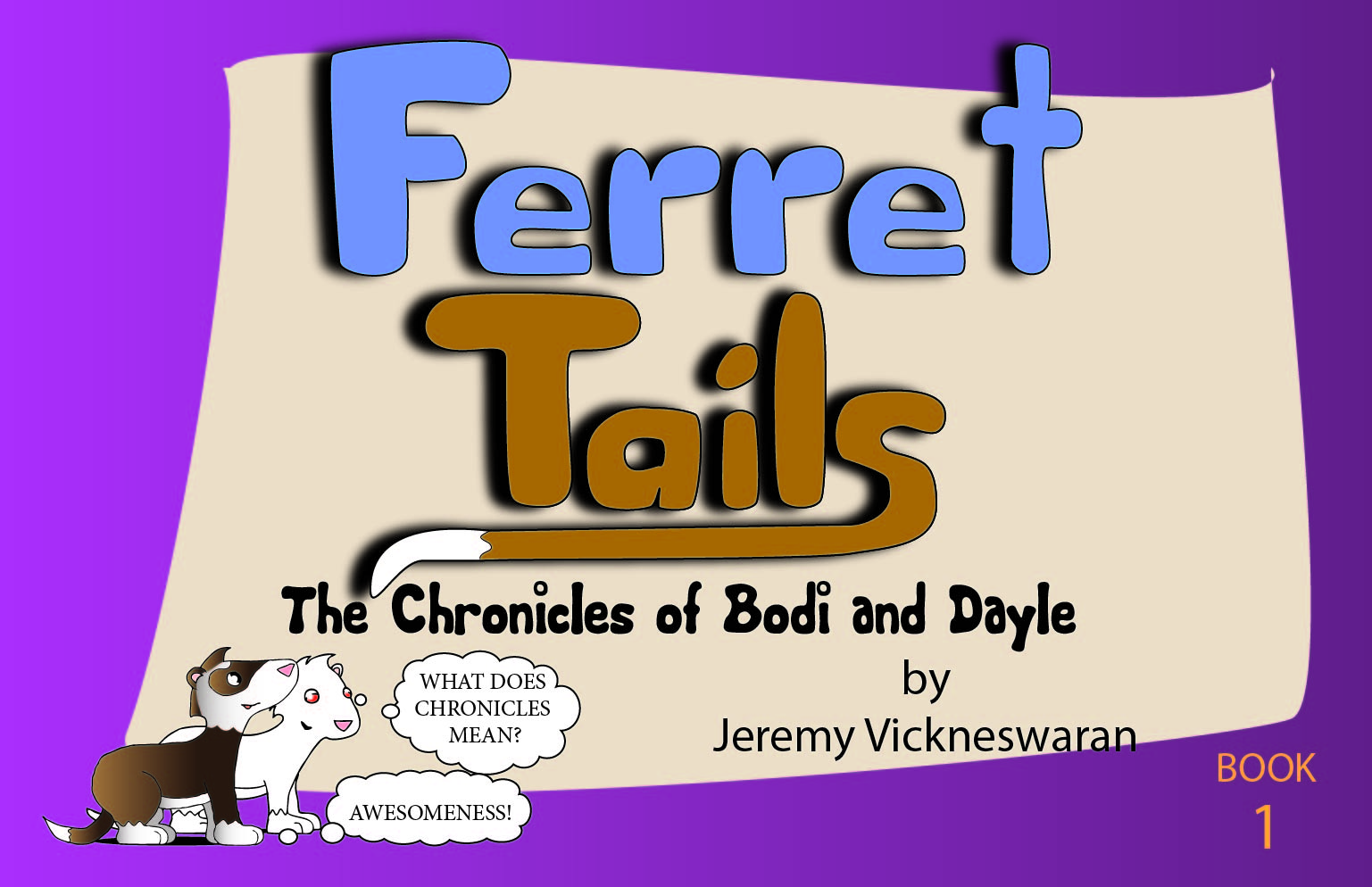ferret tails book one
