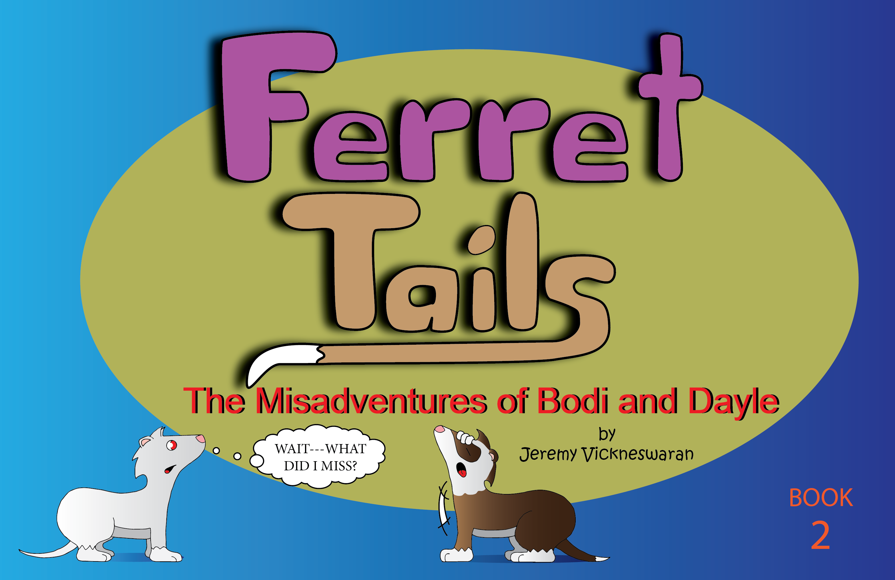 ferret tails book two